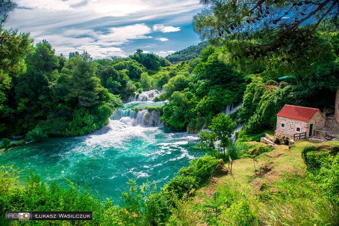 Пейзажі Заходу: національний парк Крка, Хорватія. Автор фото: LucasPhotoPL.