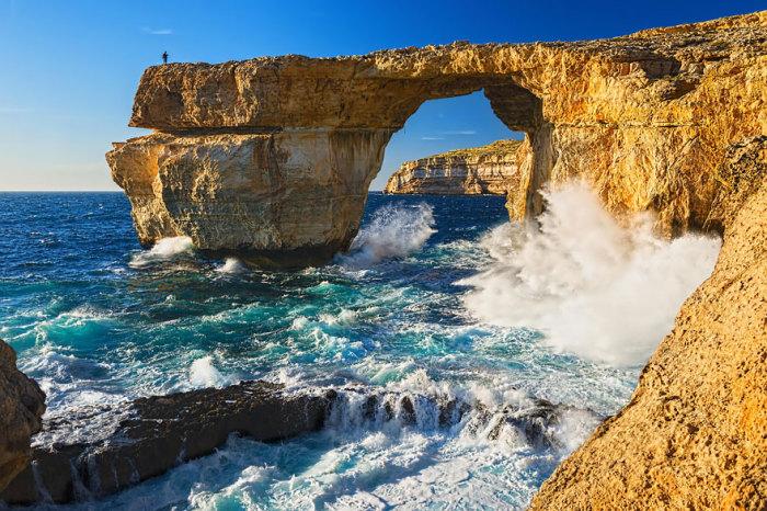 Весілля Дейенеріс і Дрого: Лазурне вікно, острів Гозо, Мальта. Автор фото: Cherry Fog.