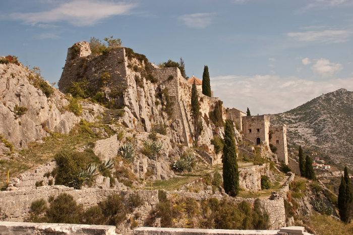 Міерін: фортеця Кліс, Хорватія.