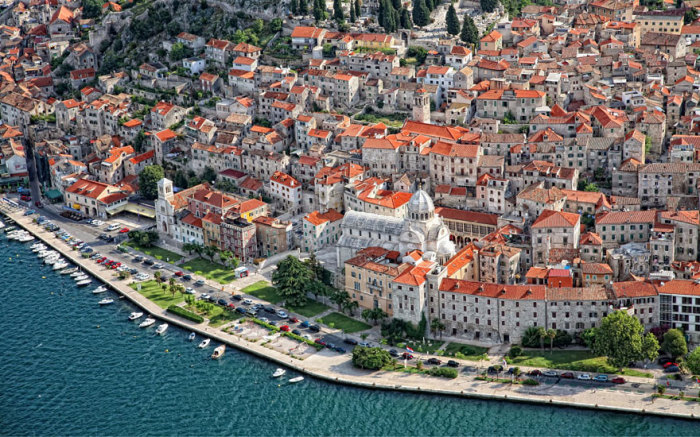 Вільне місто Браавос: Шибеник, Хорватія.