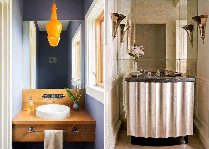 Інтер'єр туалетної кімнати від Alchemy Design Studio і Studio William Hefner