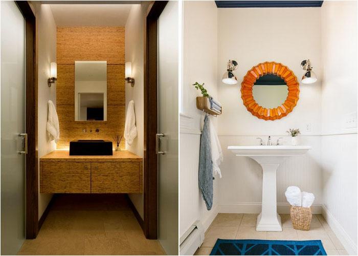 Інтер'єр туалетної кімнати від 186 Lighting Design Group - Gregg Mackell і Holly Hickey Moore