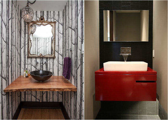 Інтер'єр туалетної кімнати від Farrow Arcaro Design і Lucid Architecture