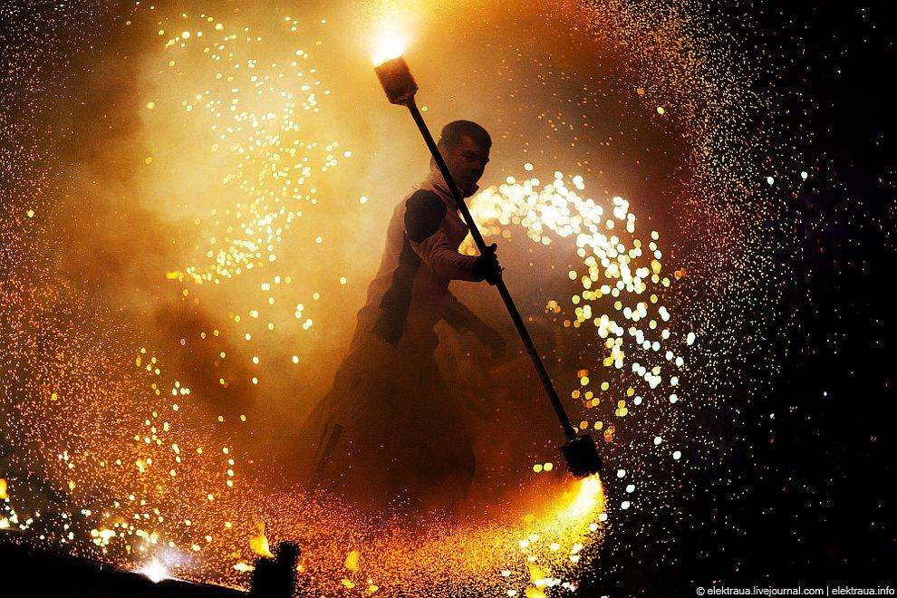 Фестиваль вогню у Києві
