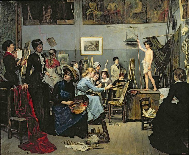 В художній студії Жульєна