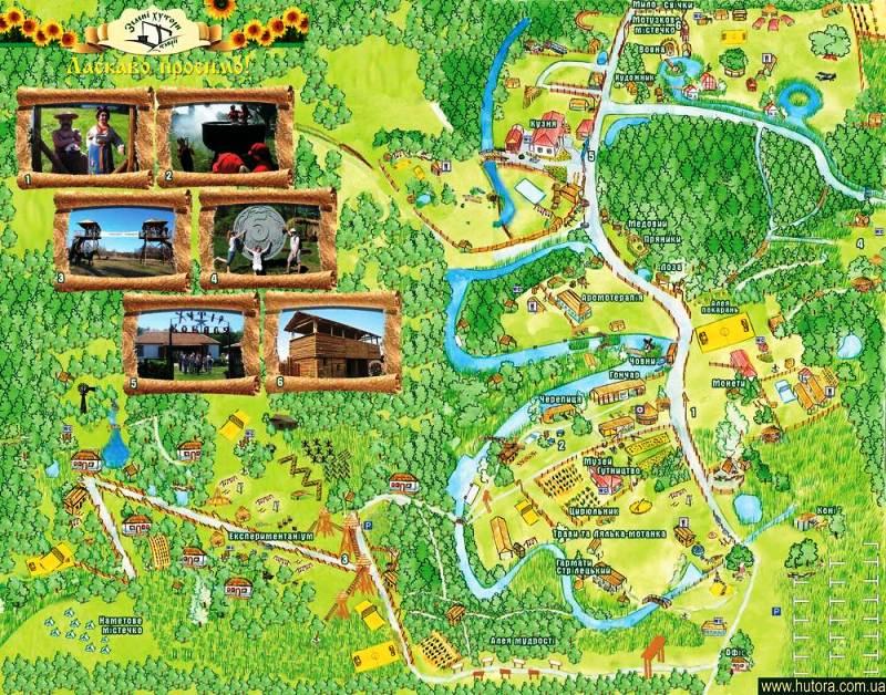 Мапа Квіткового маршруту