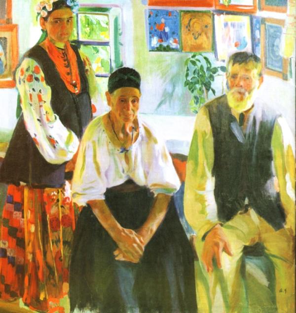 Селянська родина