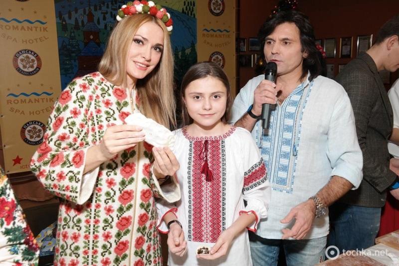 Ольга Сумська з сім`єю