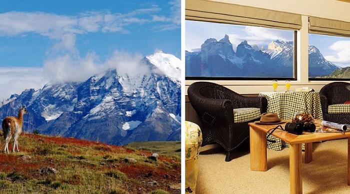 Explora Patagonia - висококласний готель.