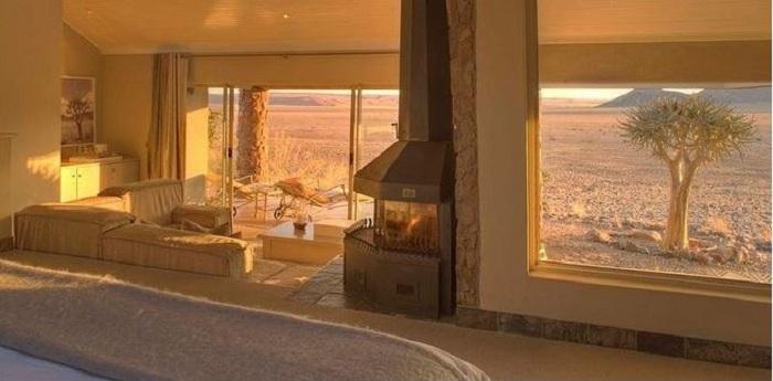 Sossusvlei Desert Lodge - європейський комфорт з африканським колоритом.
