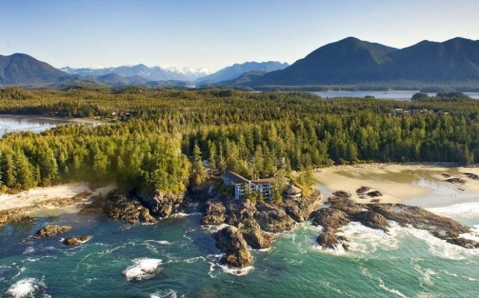 Wickaninnish Inn - готель на суворих канадських берегах.