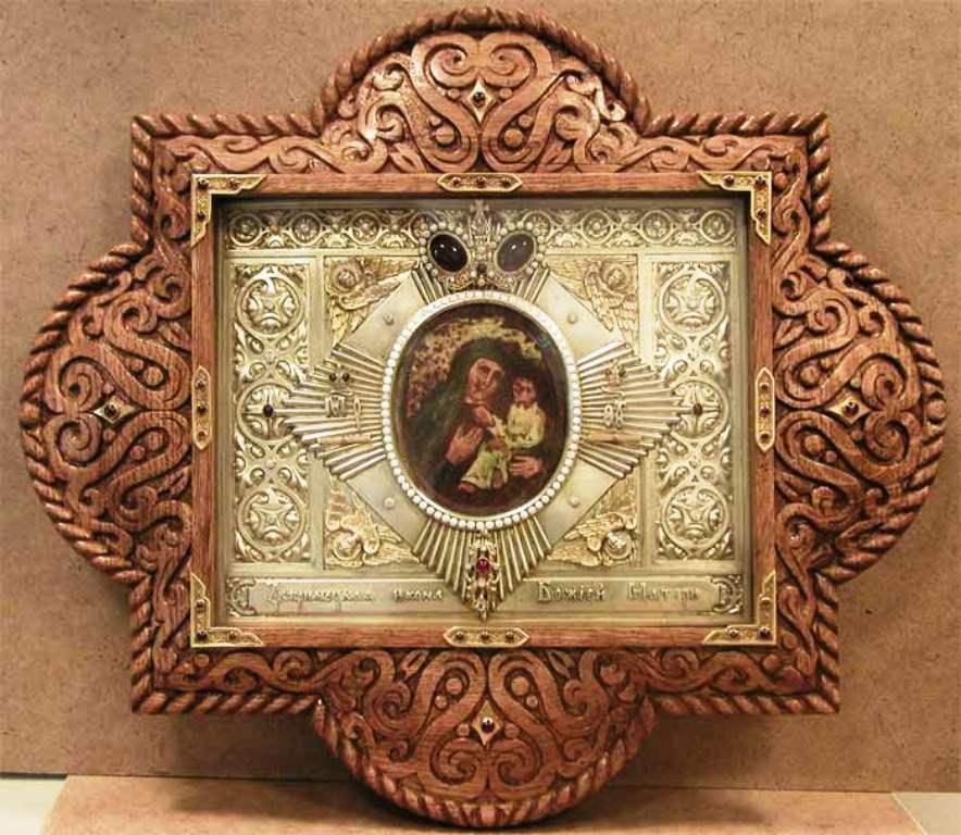 Ікона Звіринецької Божої Матері фото: iona.kiev.ua