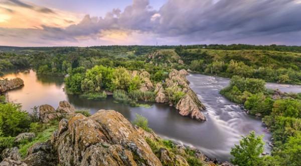 Євген Самученко: «Вечір на «інтегралі» – річка Південний Буг»