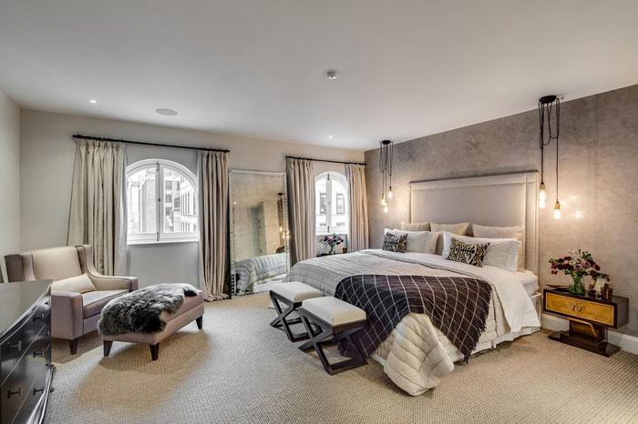 Інтер'єр спальні від Barlow & Barlow Design