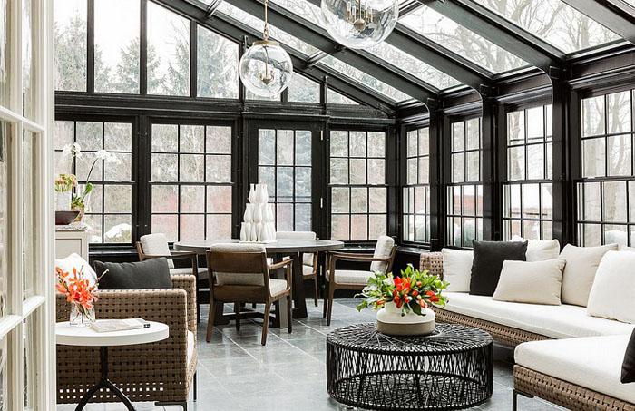 Їдальня і вітальня на терасі