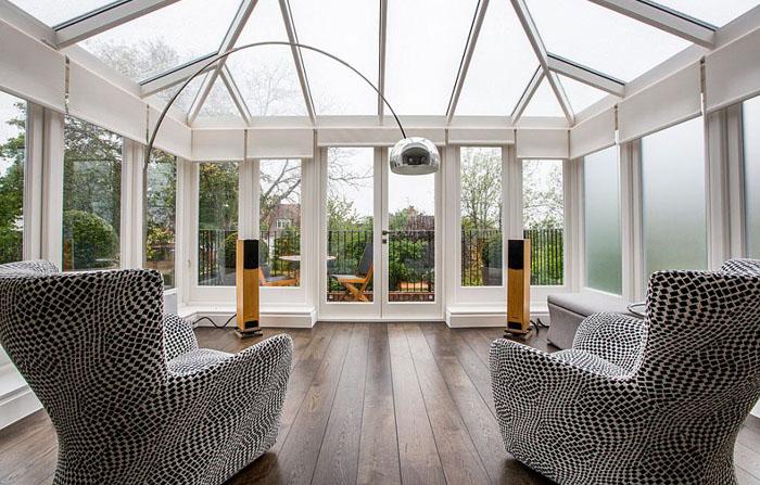 Стильна тераса в Лондоні
