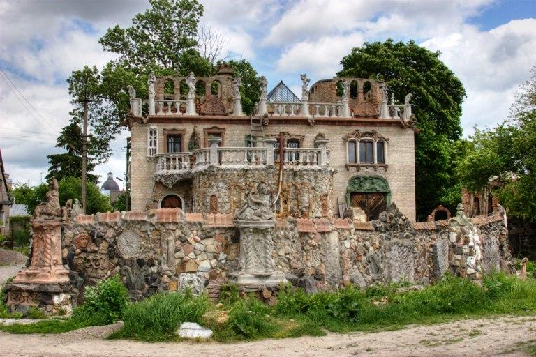 Будинок з химерами Фото: Yuriy Buriak