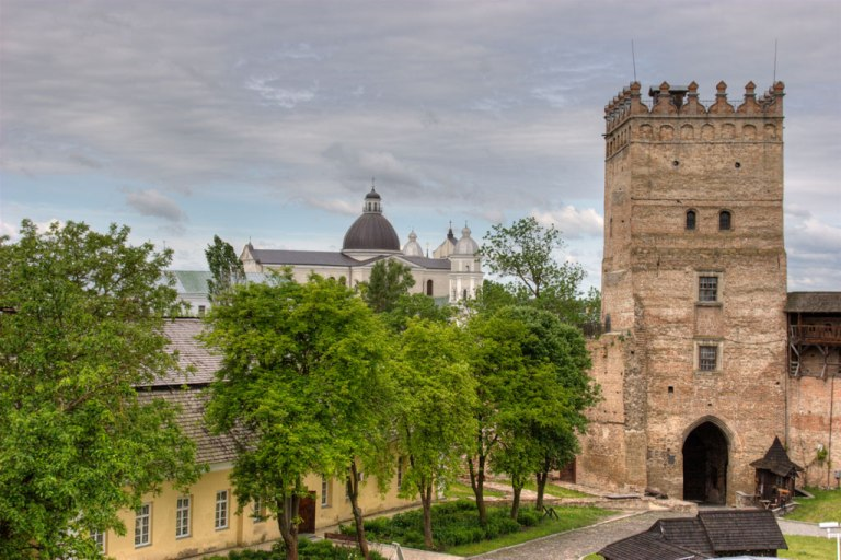 Замок Любарта. Фото Yuriy Buriak