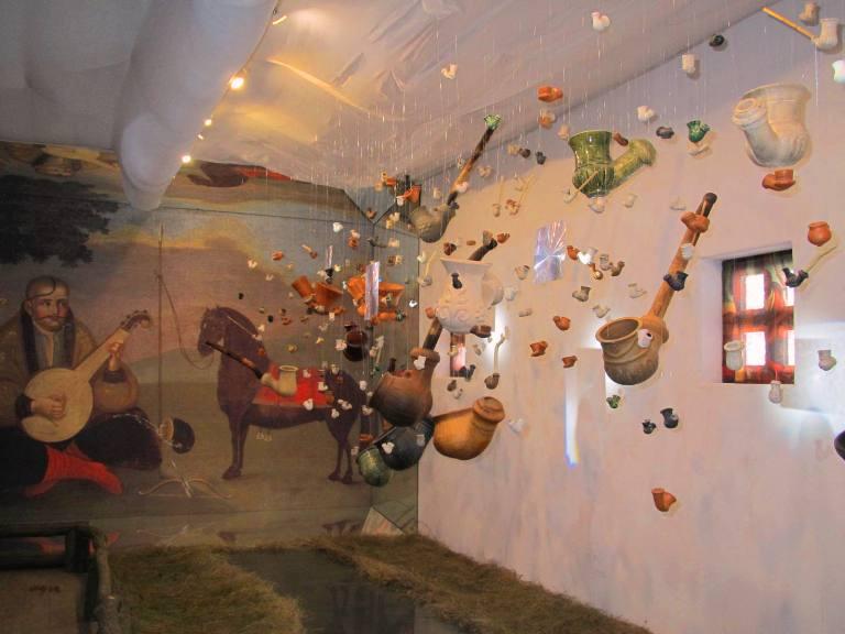 експозиція «Козак Мамай і козацька люлька» Фото Леонід Сосницький