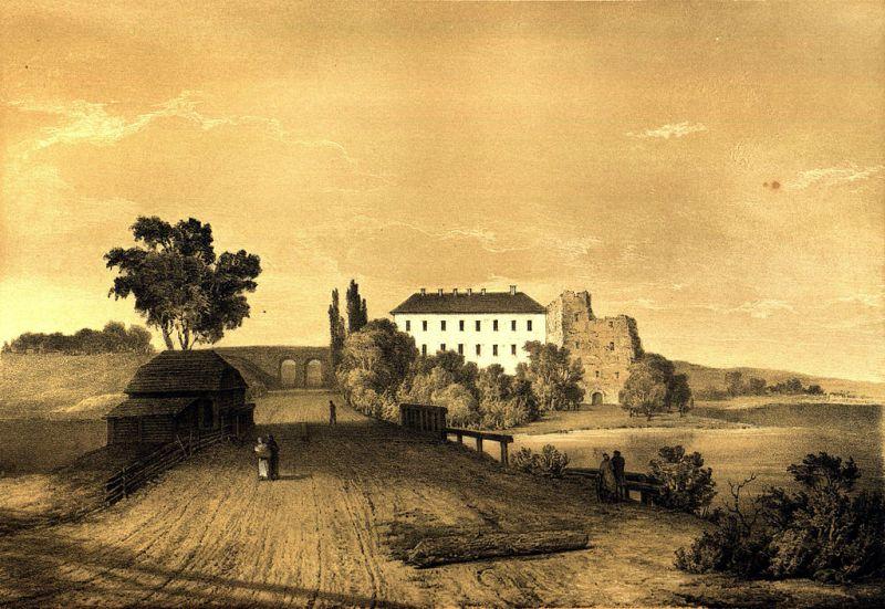 Вид на Клеванський замок Наполеон Орда