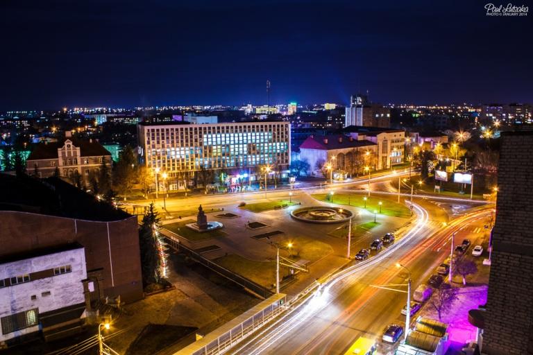 Вечірній Луцьк  фото: Павло Луцака
