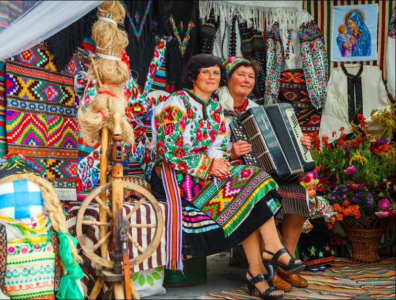 На фестивалі у місті Борщів