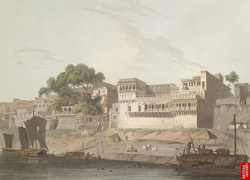 800px-City_of_Patna,_on_the_River_Ganges,_19th_century