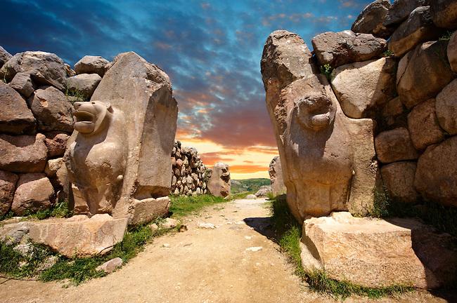 Picture of The Lion Gate - Hittite Capital Hattusa 6