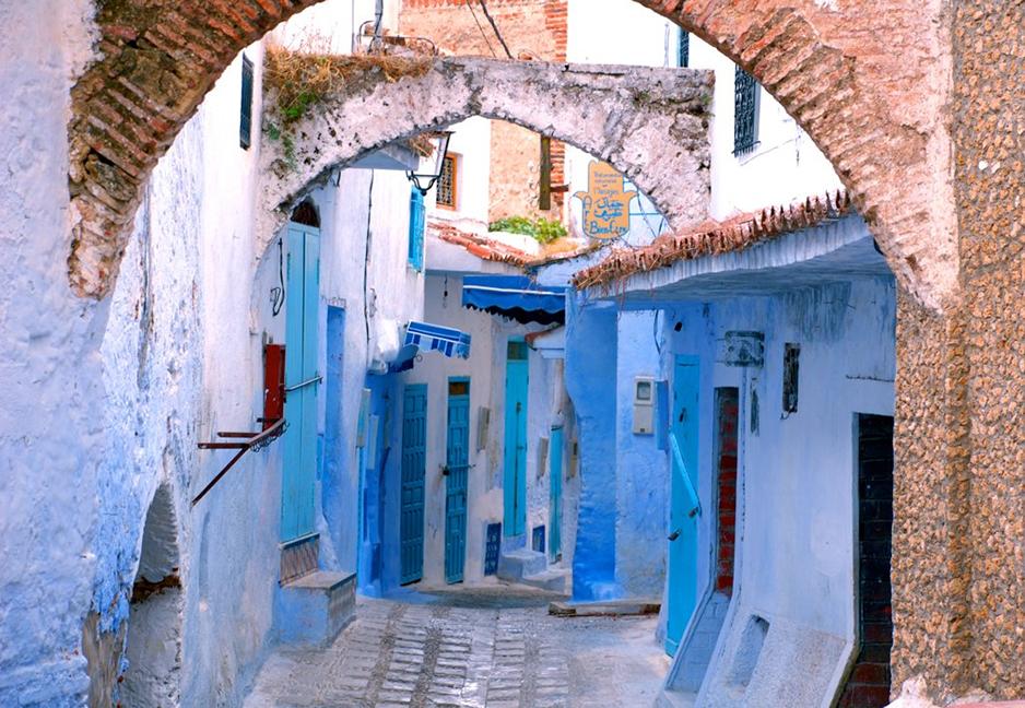 alleys in medina