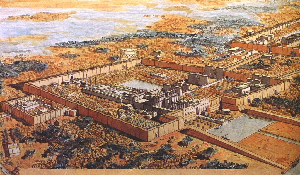 drawing_and_reconstruction_of_temple_at_karnak