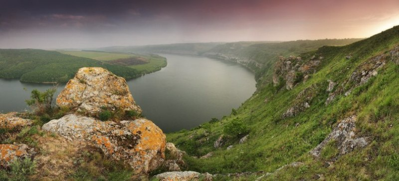 Ранок на Дністрі фото: Максим Вейзе