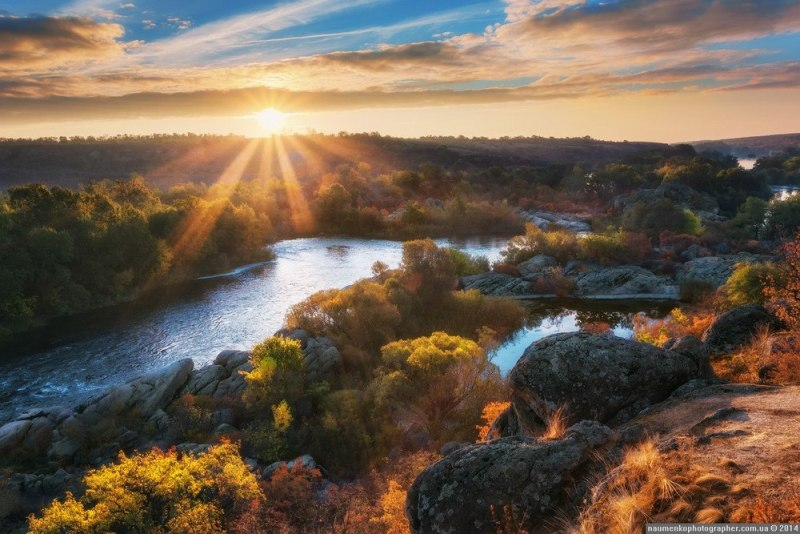 Ранок на Південному Бузі фото: Олександр Науменко