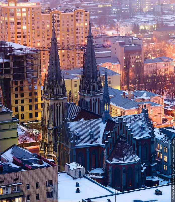 Миколаївський костел, Київ