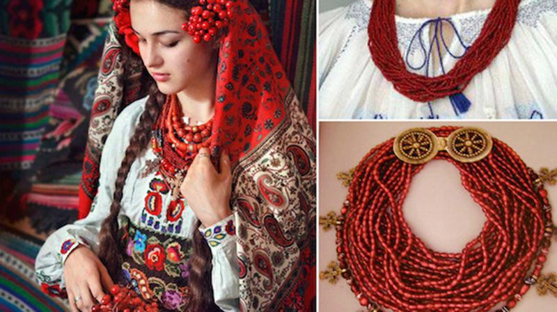 Українське намисто: історія українського намиста, різновиди, символіка