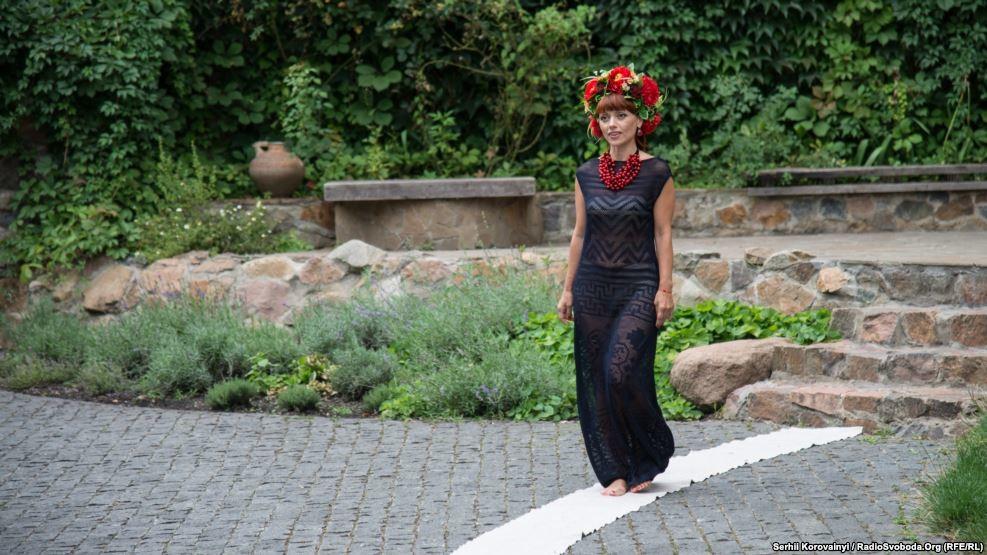 фестиваль етнічного одягу у замку-музею Радомисль