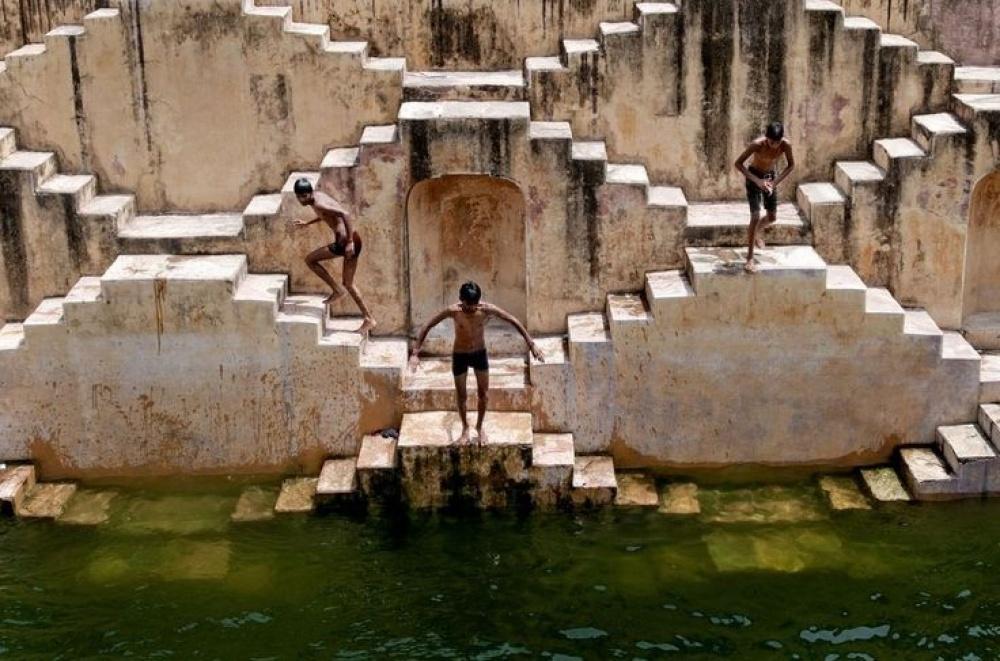 Чанд Баорі, Індія