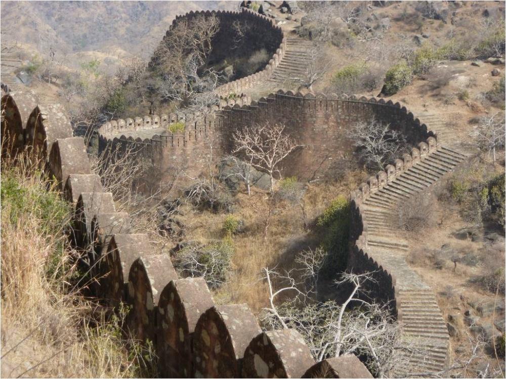 Форт Кумбалгарх, Індія