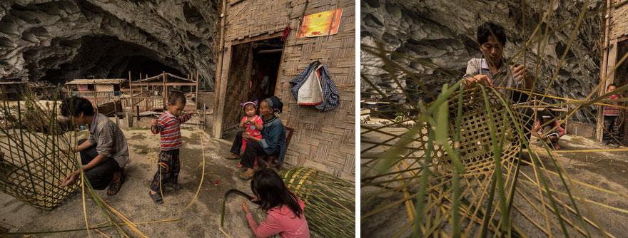 Село Чжундун в гірській китайській провінції Гуіджоу