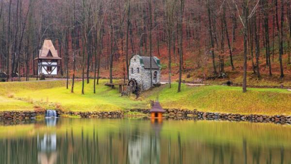 Парк Шенборна , Урочище Воєводино, Закарпатська область