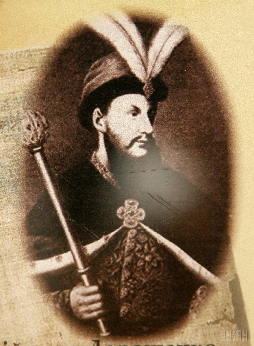 Репродукція портрета гетьмана