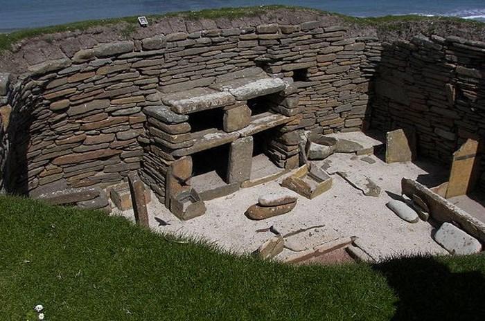 Скара-Брей - доісторичне шотландське село.