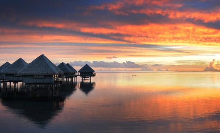 Тропічний рай для романтичного весілля