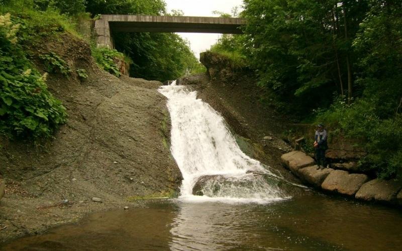Рушірський водоспад, Люча