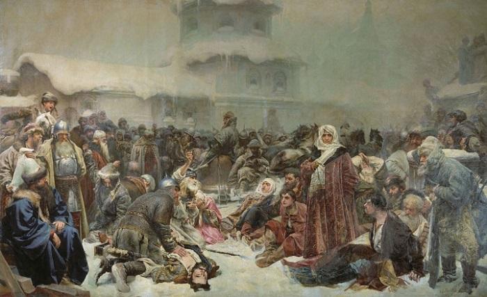Клавдій Лебедєв. «Марфа посадниця. Знищення новгородського віча»