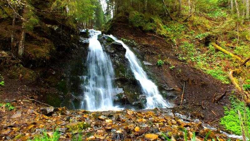 Водоспад Салатручіль, Бистриця