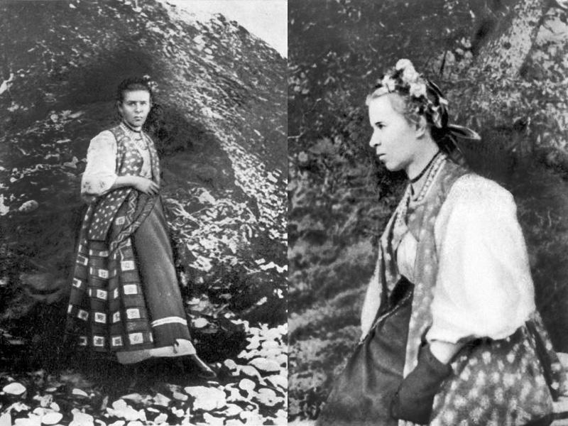 Леся Укранка в Криму (Чукурлар), фото 1897 року
