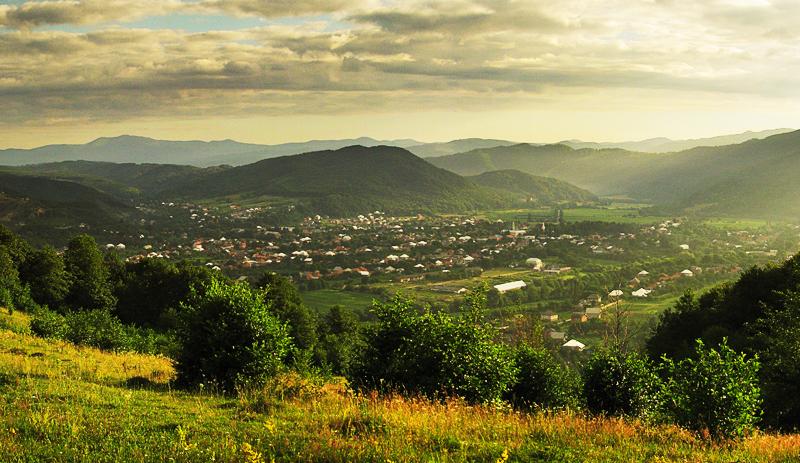 Краєвиди села Довге, Закарпаття