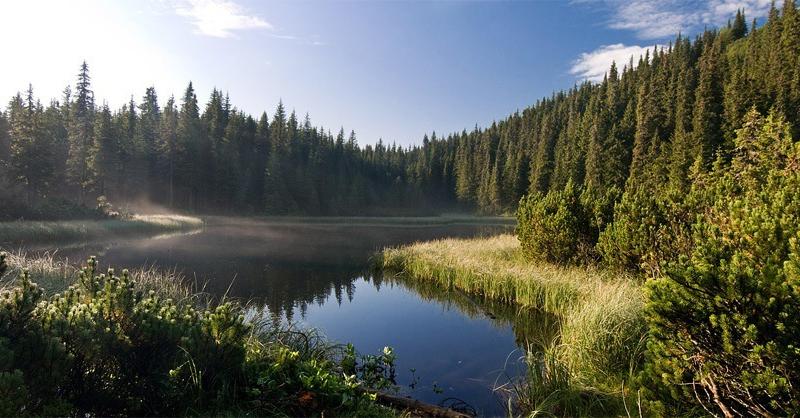 Озеро Марічейка, Чорногорський хребет