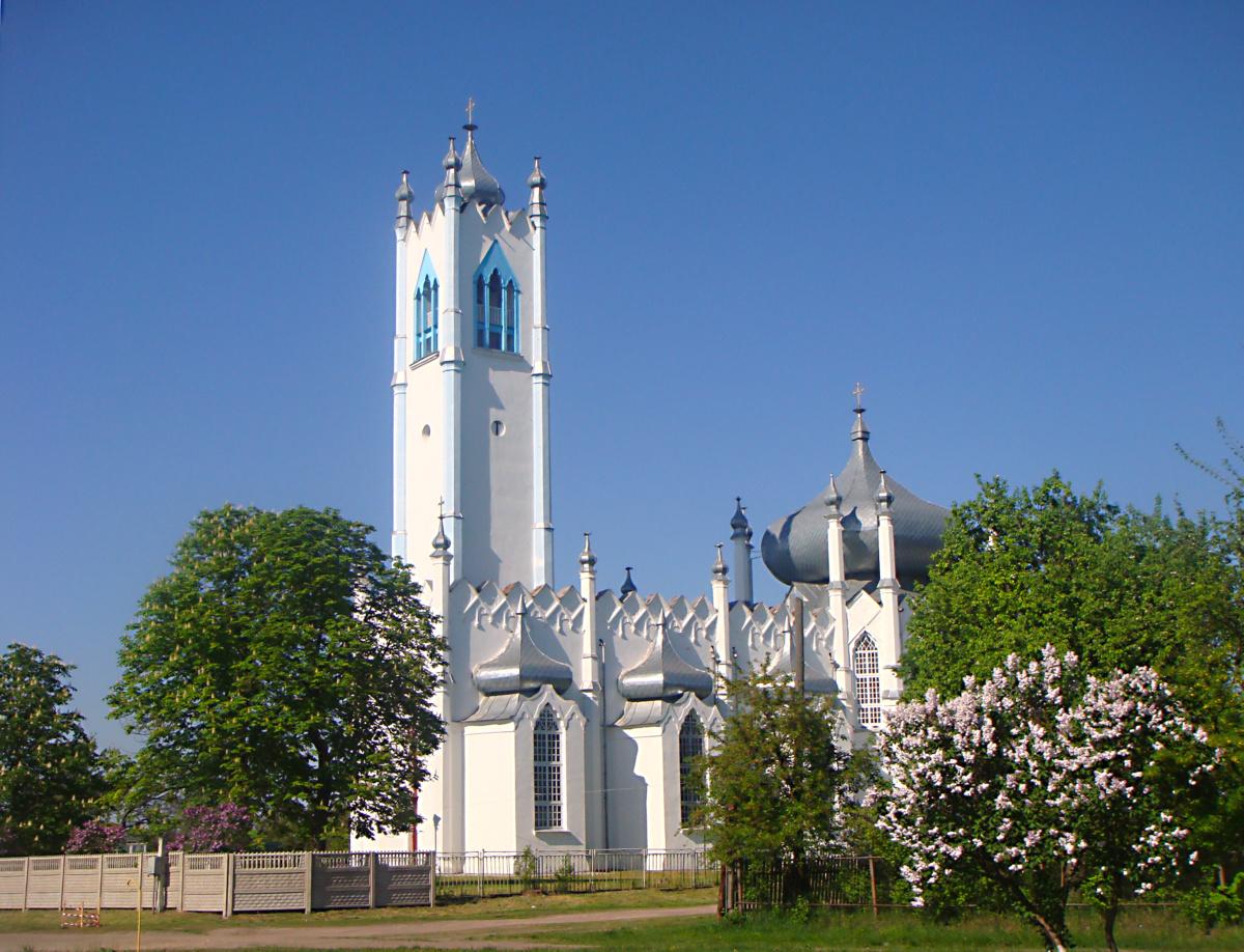 церква в Мошни