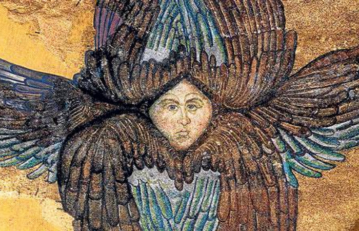 Таємнича мозаїка: прихований ангел в соборі Святої Софії.
